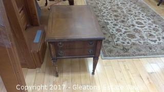 PECAN VINTAGE NIGHT STAND