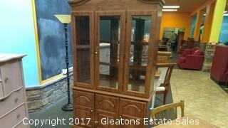 CHINA CABINET TWO SHELVES