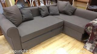 DORM TWO PIECE COUCH/BED