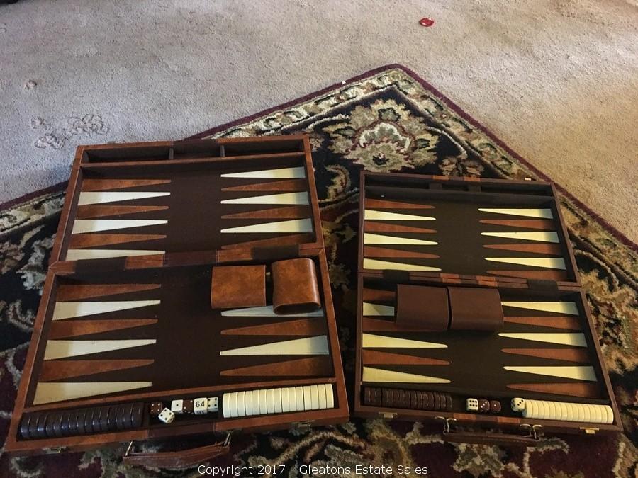 Vintage Backgammon Sets 67