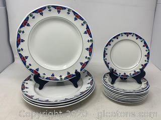 Veruschka by Adams China Plates