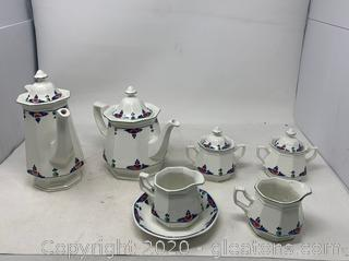 Veruschka by Adams China Tea and Coffee Set(Discontinued 1983-1992)