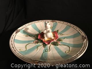 Easter cookie dish