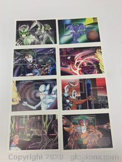 1994 Alien Sightings Stamps