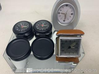 Travel Clocks and Analog Clock