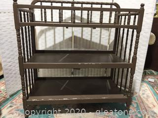 Vintage Baby Changing Table