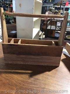 Wood Gardner Tool Caddy