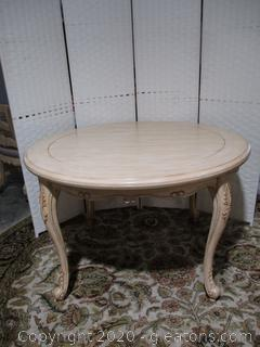 French Country Style Round Table by Powell Furniture