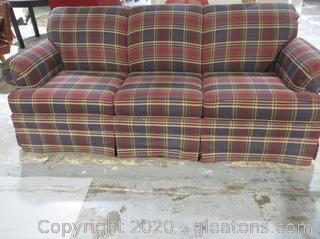 Plaid Broyhill Plaid Queen Size Sleeper Sofa