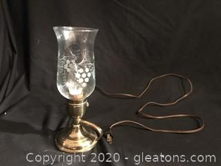Little brass lamp
