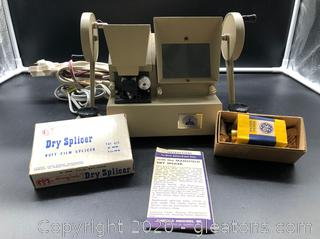 Antique Film Dry Splicer by Sears Roebuck