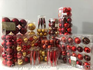 Christmas Bulb Lot # I