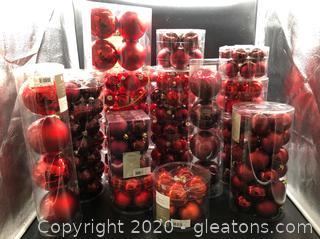 Christmas Bulb Lot # J