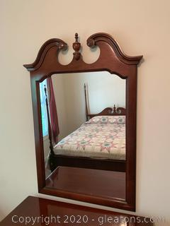Vintage Dixie Wall Hanging Mirror