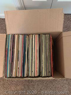 Lot of Assorted Vinyl Records