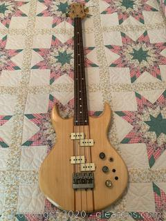 Vintage Electric Bass Guitar