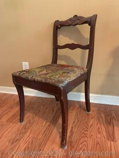 Vintage Hand Crafted Chair