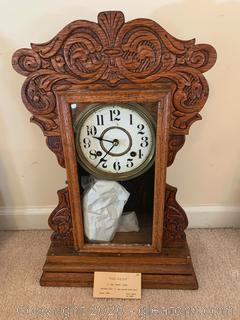 New Haven 8 Day Shelf Clock From 1880