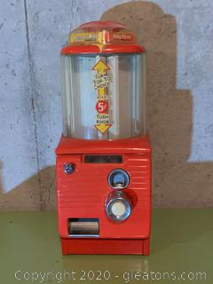 Northwestern Turn Top Stick Gum Machine