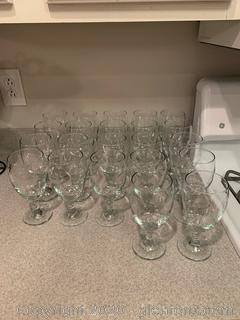 Lot of Large Iced Tea Glasses