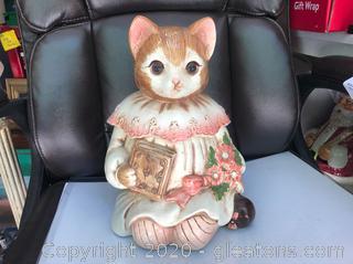 Vintage Emily the Cat Cookie Jar