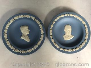 Two Small Wedgewood Dishes