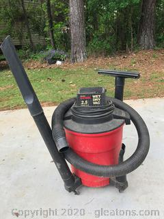 8 Gallon Craftsman Wet-Dry Vac