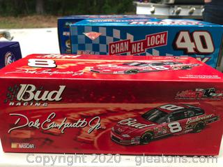 Earnhardt Nascar Special - 4 Scaled Cars in Boxes