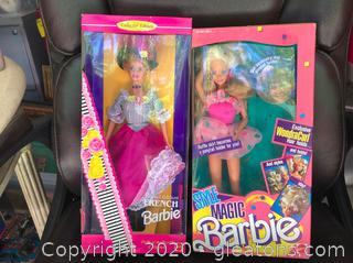 2 Piece Barbie lot
