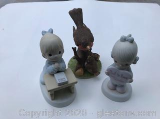 3 Ceramic Pieces