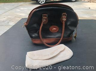 Dooney & Burke Handbag + A Richere Beaded Clutch