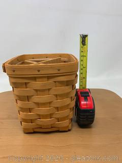 Longaberger Utensil Basket with Divider