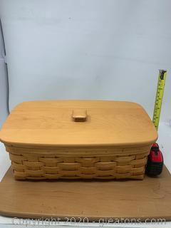 Longaberger Organizing Storage Basket