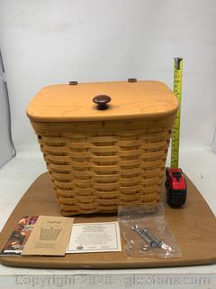 Longaberger Mail Basket