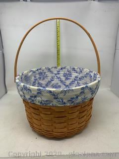 Longaberger Large Cottage Trellis Outdoor Basket