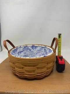 Longaberger Cottage Trellis Darning Basket