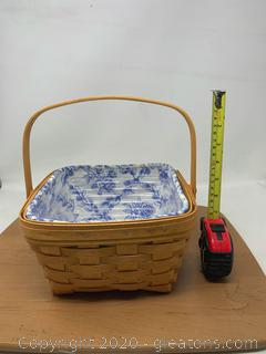 Longaberger Cottage Trellis Large Berry Basket