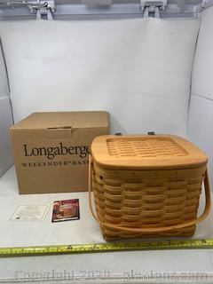 Longaberger Weekender Basket