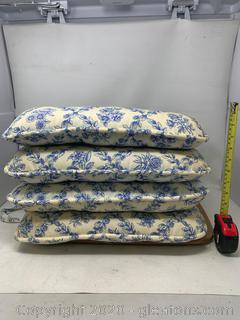 Longaberger Cottage Trellis Chair Cushions