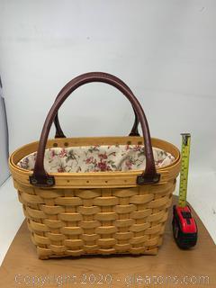 Longaberger Medium Boardwalk Basket