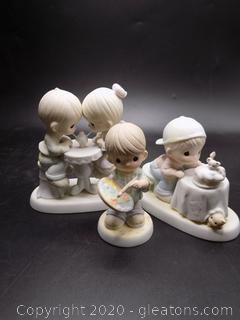 Precious Moments Collectors Lot K