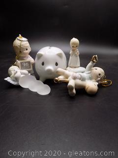 Precious Moments Collectors Lot O
