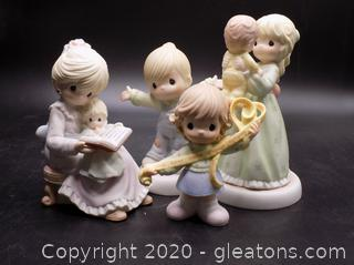 Precious Moments Collectors Lot P