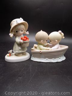 Precious Moments Collectors Lot L