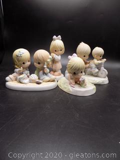 """2003 Members Only"" Precious Moments Collectors Lot"