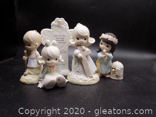 Precious Moments Collectors Lot Q