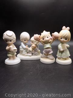 Precious Moments Collectors Lot T