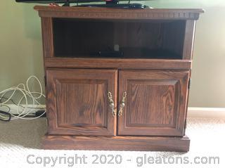 Herculux Wooden TV Stand