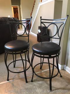 2 Modern Barstools