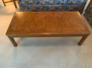 Drexel Heritage Passage Campaign Coffee Table